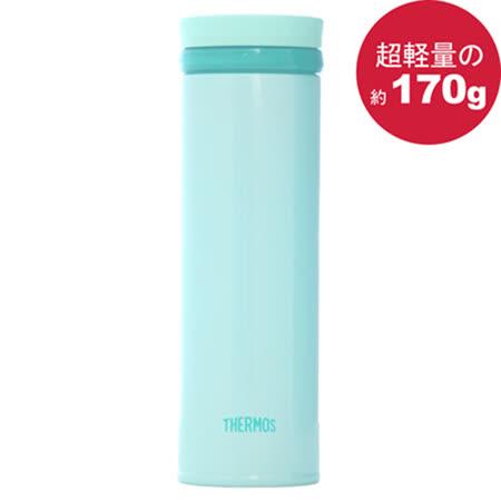 THERMOS 膳魔師 極輕量不鏽鋼真空保溫杯350ml-薄荷綠色【JNO-351】(MF0359SG)