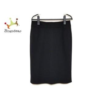 ジョルジオアルマーニ GIORGIOARMANI スカート サイズ40 M レディース 美品 - 黒   スペシャル特価 20200308