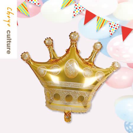 珠友 DE-03180 派對佈置-鋁箔皇冠氣球/浪漫歡樂場景裝飾/會場佈置