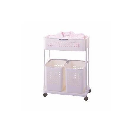 日本品牌【ASVEL】便利收納洗衣籃-Grady系列-7401