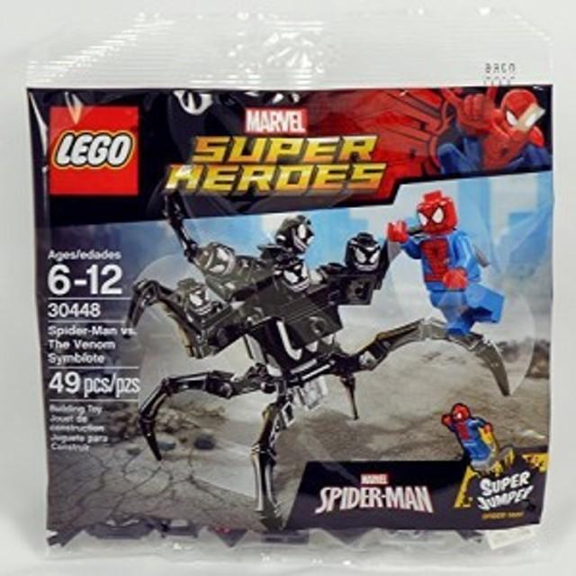 LEGO、マーベルスーパーヒーローズ、毒シンビオート対スパイダーマン(30448)袋詰めセット