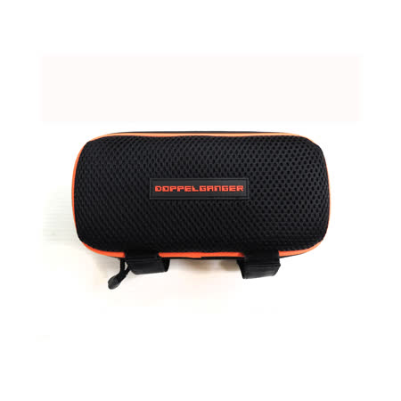 【Doppelganger】日本潮牌單車 MP3 音響擴音喇叭置物包(黑)