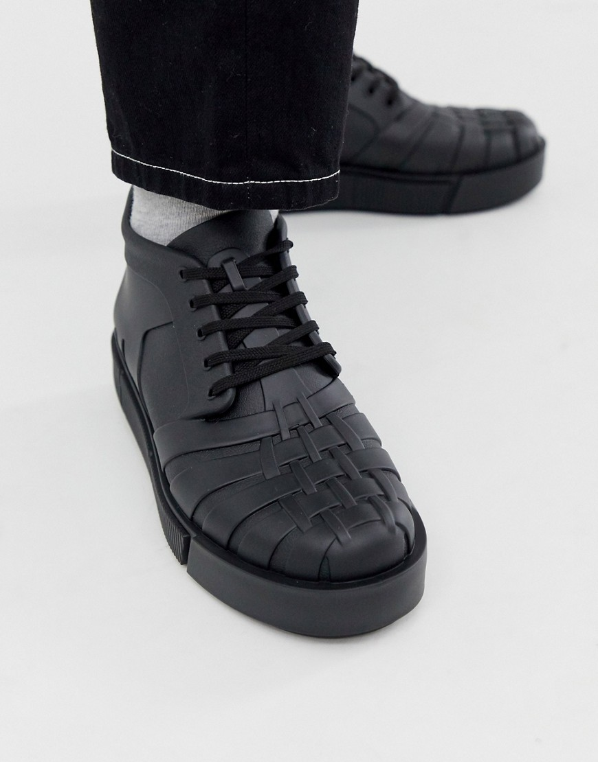 Melissa chunky trainer in black
