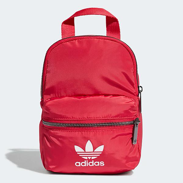 ADIDAS MINI BACKPACK 背包 後背包 小背包 時尚 休閒 紅【運動世界】ED5871