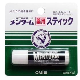 メンターム薬用スティック リップクリーム レギュラータイプ 4g / ☆唇のあれ・かわき・ひび割れに・・・