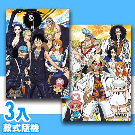 【P2 拼圖】海賊王系列520片拼圖3入組(款式隨機)
