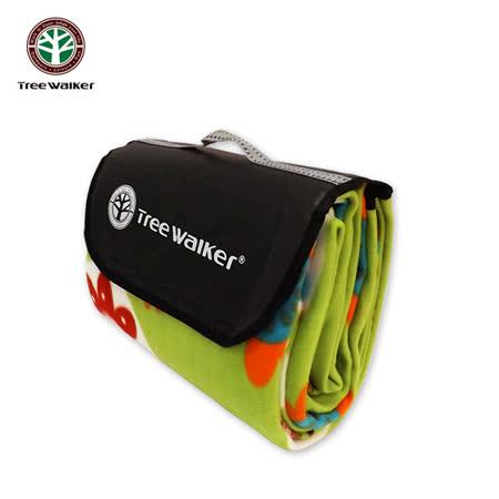 Tree Walker 方款手提式時尚植絨露營墊 124003-3