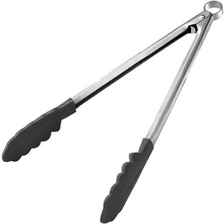 《CUISIPRO》輕鬆夾餐夾(黑24cm)