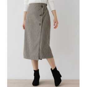 ITS' DEMO(イッツデモ) 裏ボンディングストレートスカート
