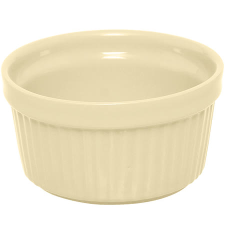 《EXCELSA》Trendy陶製布丁烤杯(奶油黃9cm)