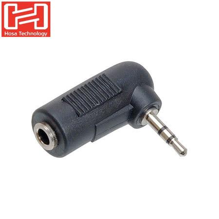 美國HOSA TECHNOLOGY 3.5MM(母)轉2.5MM(公)耳機 麥克風轉接頭GMP-467