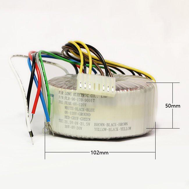 ANV DIY 環型變壓器 音響 擴大機 專用 雙電壓 120VAC 170瓦 一個