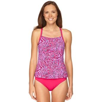 ウォータースポーツ・スイムウエア、タンキニ・トップ プリント/Watersport Swimwear, Tankini Top Print