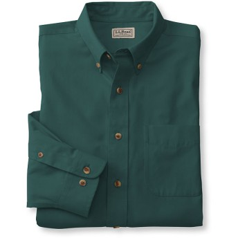 リンクルフリー(形態安定)・ツイル・スポーツ・シャツ、長袖/Wrinkle-Free Cotton Sport Shirt, Long-Sleeve