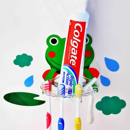 動手族 可愛造型無痕牙刷架/肥皂架(隨機)