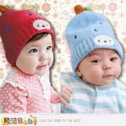 魔法Baby 嬰兒保暖毛線帽~g3601f