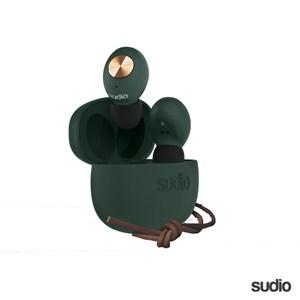 【Sudio】瑞典設計 真 無線藍牙耳機(Tolv / 綠)