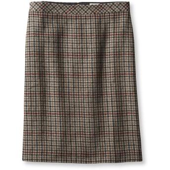 イーストポート・ウール・スカート、ハウンズトゥース/Eastport Wool Skirt, Houndstooth