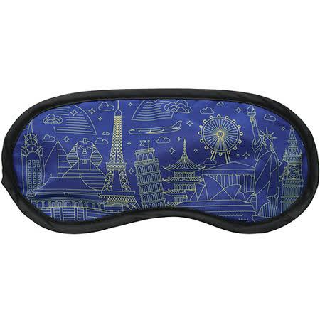 《DQ》輕旅眼罩(世界藍圖)