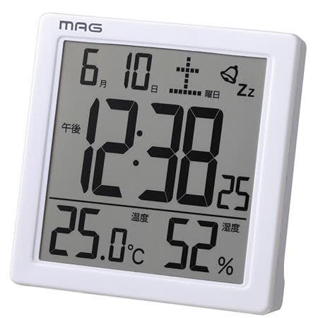 日本MAG多功能電子式時刻溫濕度計
