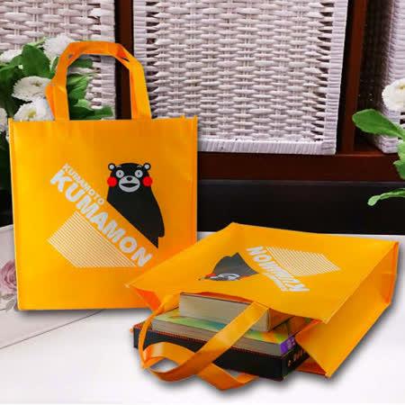 【KUMAMON】酷Ma萌購物袋 Q-01K超值二入組