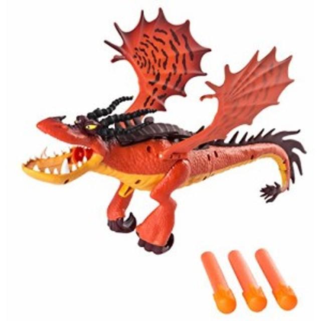 【ヒックとドラゴン / 新たな世界へ! ドラゴンブラスター 12インチ フィギュア フックファング