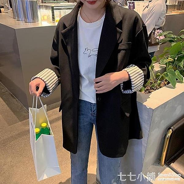 2019秋季新款韓版女士上衣休閑寬松百搭小西裝外套女西服長袖顯瘦