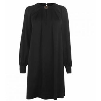 ビバ Biba レディース ワンピース ワンピース・ドレス Flgre Nck Dress Black