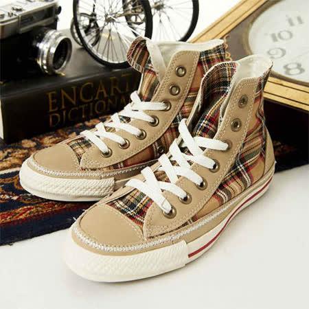 女 CONVERSE經典鞋 英倫經典 棕紅14W170092