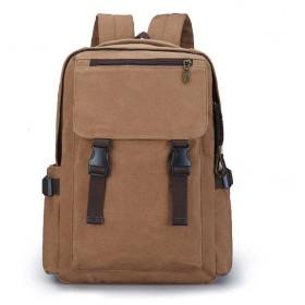 リュック バックパック メンズ 大容量 耐久性に優れたカレッジ風バックパック、男性高校生大容量バッグ、レトロ通気コンピュータバッグバックパック カジュアル 日常 旅行