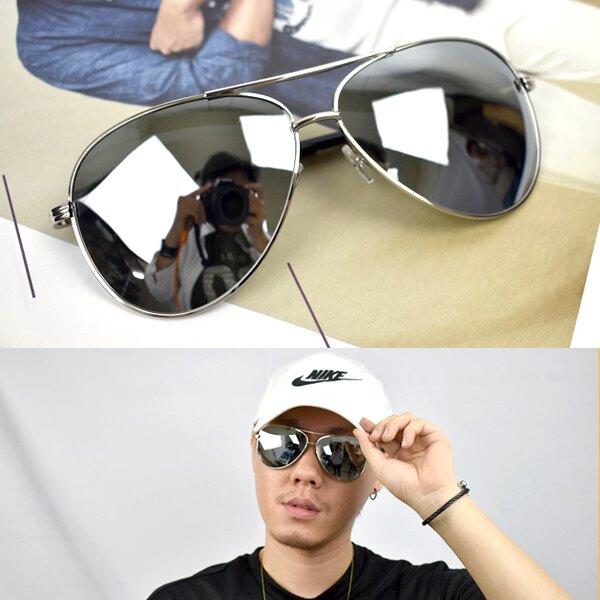 偏光太陽眼鏡 帥氣復古金屬框【NYG12】