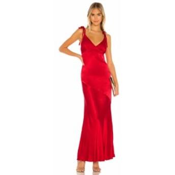 プライバシー プリーズ Privacy Please レディース ワンピース マキシ丈 ワンピース・ドレス Nina Maxi Dress Ruby Red