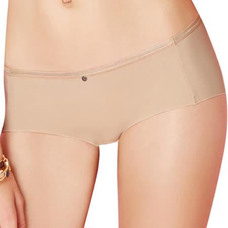 【思薇爾】嗨Q Bra系列M-XL素面低腰平口褲(親膚色)