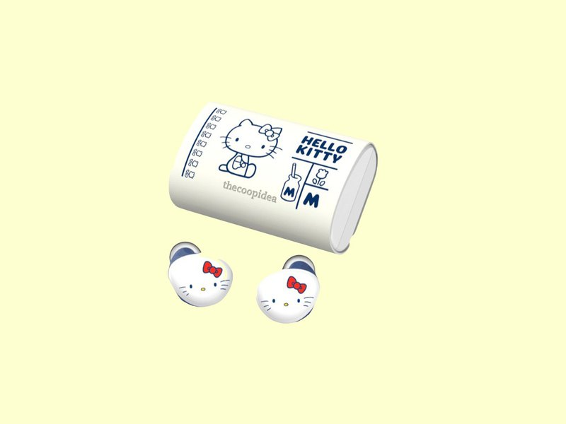 thecoopidea x Hello Kitty BEANS+ 真無線藍牙耳機套裝