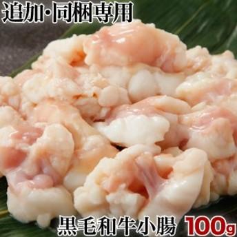宮崎県産黒毛和牛 小腸 100g コプチャン ホルモン 単品 同梱専用 クール