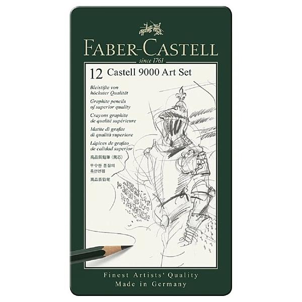 素描 Faber-Castell輝柏 119065G 高級素描鉛筆12入【文具e指通】 量販團購