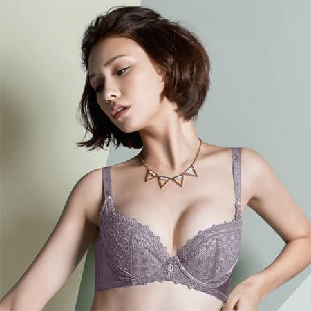 摩奇X-大V背系列B-C罩杯內衣(紫芋)