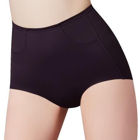 【思薇爾】輕塑型系列64-82高腰平口束褲(黑色)
