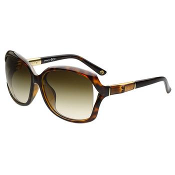 GUCCI- 奢華鍍金款 太陽眼鏡 (紅色)