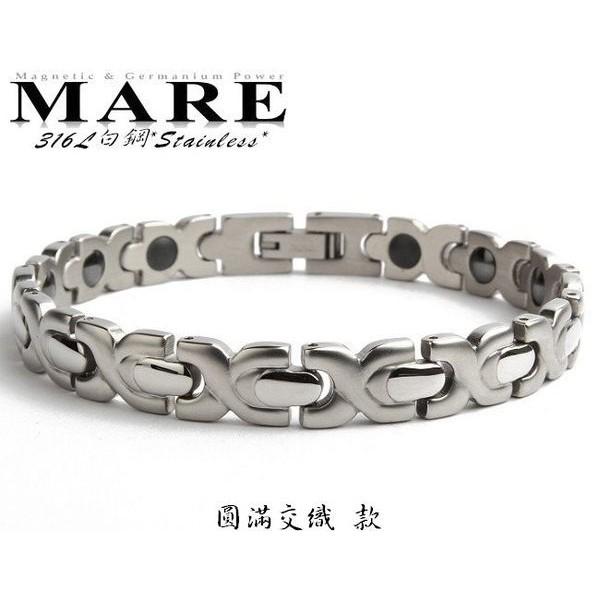 【MARE-316L白鋼】系列: 圓滿交織 (男) 款
