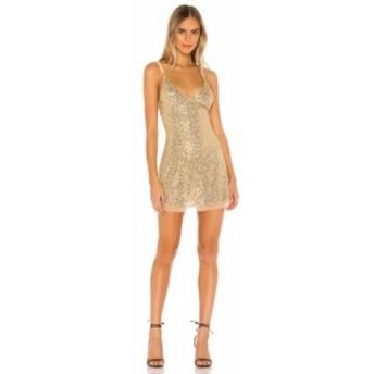 フリーピープル Free People レディース ワンピース ミニ丈 ワンピース・ドレス Gold Rush Mini Dress Gold