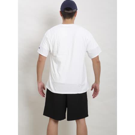冠軍Champion經典短棉T恤【白色】刺繡Logo MT0223-045