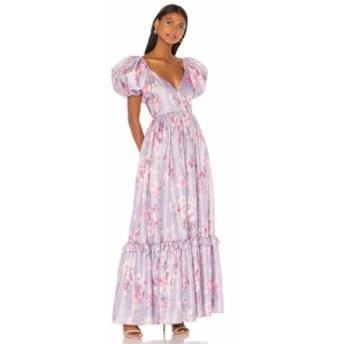 ラブシャックファンシー LoveShackFancy レディース ワンピース ワンピース・ドレス Ida Dress Hibiscus