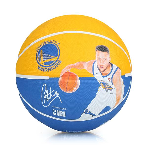 SPALDING 勇士-柯瑞 Curry 籃球 #SPA83844(附球針 7號球 免運 ≡排汗專家≡