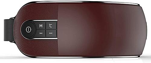 YAPAFA【日本代購】眼部按摩儀 按摩器 音樂播放USB 充電式-二色