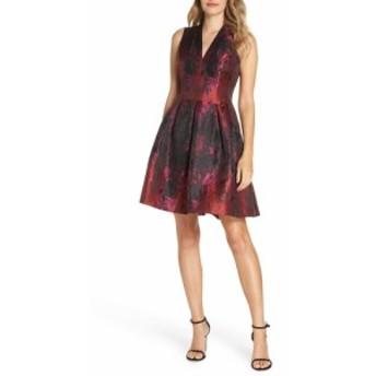 ヴィンス カムート VINCE CAMUTO レディース ワンピース ワンピース・ドレス Jacquard Fit and Flare Dress Pink Multi