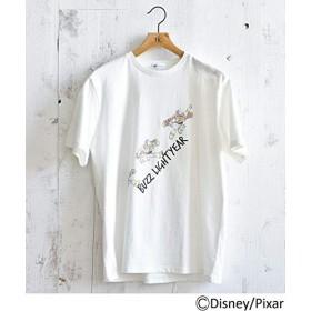(ティーケー タケオキクチ) tk.TAKEO KIKUCHI 【WEB限定】トイストーリー バズライトイヤーTシャツ 97926706 02(M) ホワイト(001)