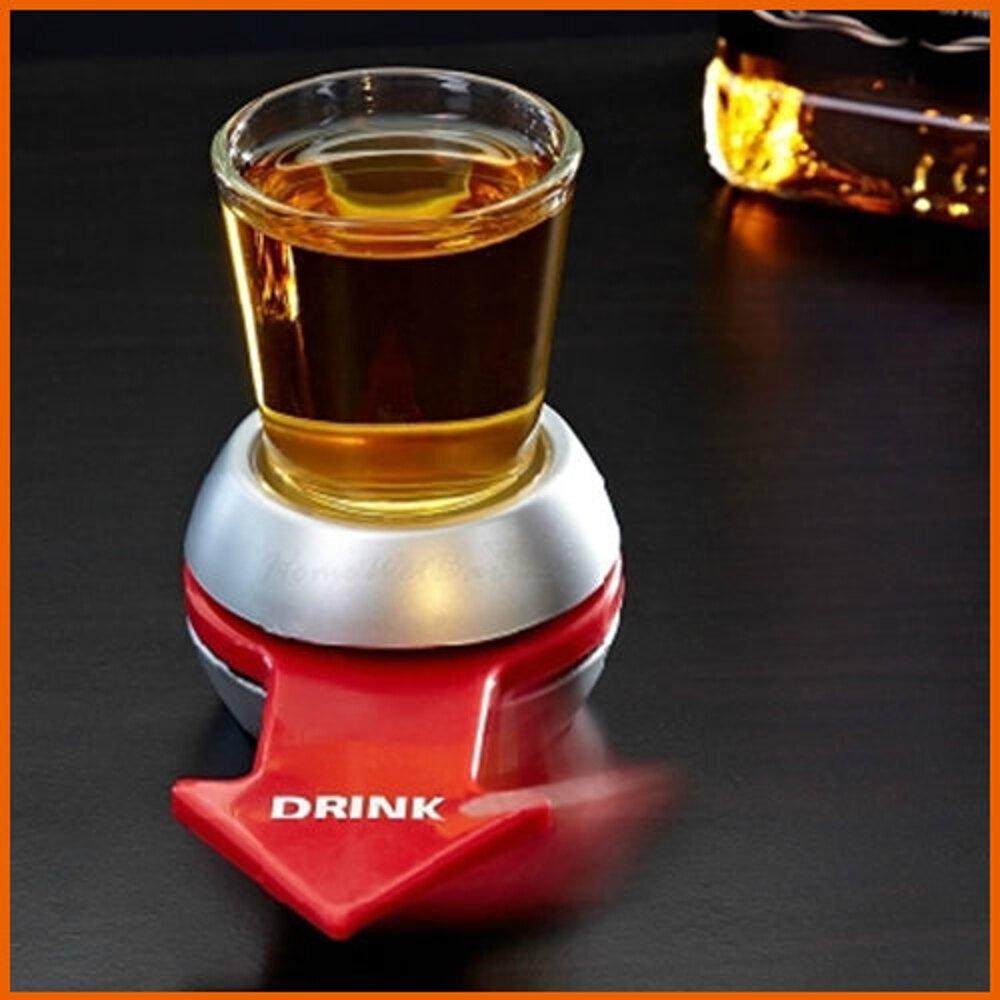 【Love Shop】箭頭喝酒轉盤玩具/酒吧娛樂用品 箭頭酒盤助真心話大冒險/ 輪盤轉轉樂 喝酒轉盤
