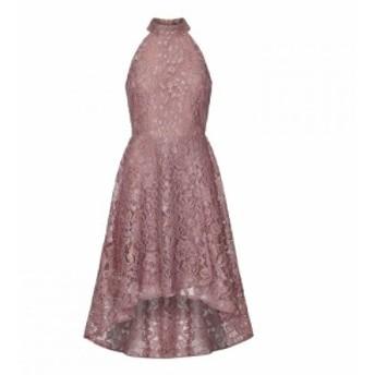 メーラ Mela レディース ワンピース ワンピース・ドレス High Neck Lace Dress Pink