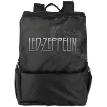 レッド・ツェッペリン Led Zeppelin 8 軽量多機能リュック可愛い 防水 通学 旅行 アウトドア子供リュック 低、高学年